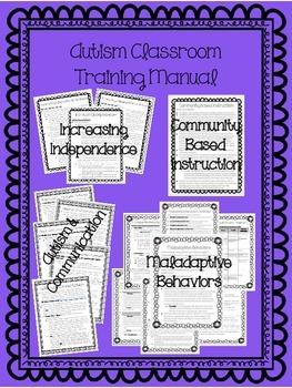 Autism Classroom Training Manual