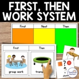 First and Then Visual Board   Autism Visuals