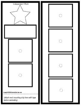 Autism Classroom Visuals Kit - SHAPES THEME