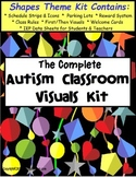 Autism Classroom Visuals Kit - SHAPES THEME