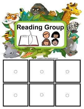Autism Classroom Visuals Kit - ZOO THEME