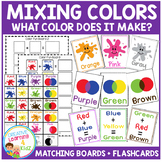 Color Mixing Boards & Flashcards
