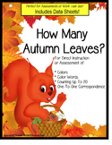 Autism: Colors and Counting with Number Recognition / How Many Autumn Leaves?