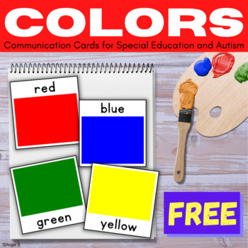 FREE Communication Cards- Colors
