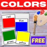 FREE Communication Cards - Colors
