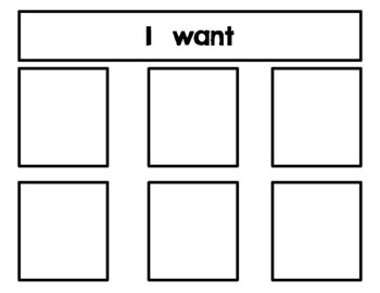 Autism Communication Support Choice Board