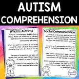 Autism Comprehension | Autism Awareness Activities