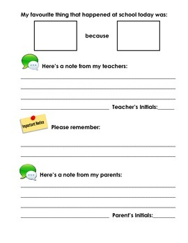 Autism Daily Agenda Sheets for Students to Complete Daily
