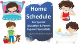 Autism Daily Home Schedule