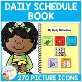Daily Schedule Book 270 PECS Autism