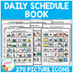 Daily Schedule Book 270 PECS Autism