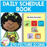 Daily Schedule Book 270 Picture Icons Autism Boardmaker PCS