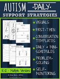 Autism Visuals and More: Daily Support Strategies (K-12)