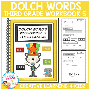 Dolch Words Workbook 5 Third Grade