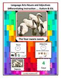Autism & ESL: Language Arts; Nouns and Adjectives
