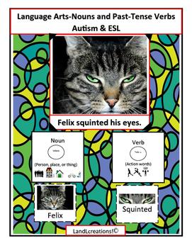 Autism & ESL: Language Arts-Nouns and Verbs