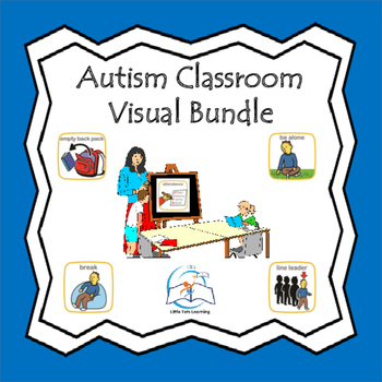 Autism Pre-K - Elementary Classroom Visuals (Special Education)