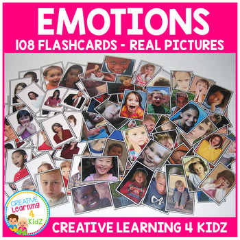Emotions Real Picture Cards Feelings