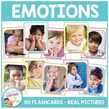Emotions & Feelings Flashcards