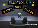Autism: Life Skills & Social Skills Emotions Happy and Not Happy