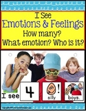 Adapted Book - EMOTIONS & FEELINGS w/Data