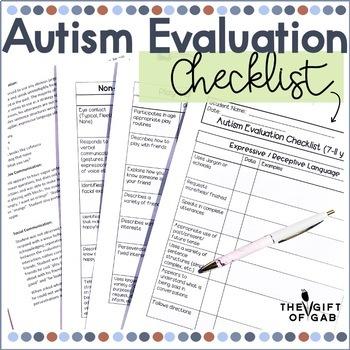 Autism Evaluation Resource Bundle