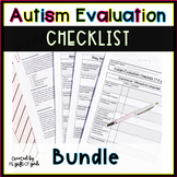Autism Evaluation Resource Bundle