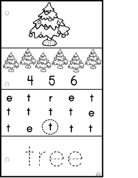 Autism: FOLLOWING VISUAL DIRECTIONS HOLIDAY Worksheets for NON-READERS Data/Goal