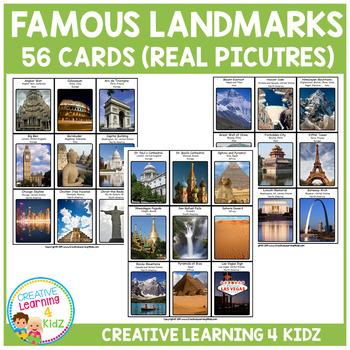 Famous Landmarks Cards