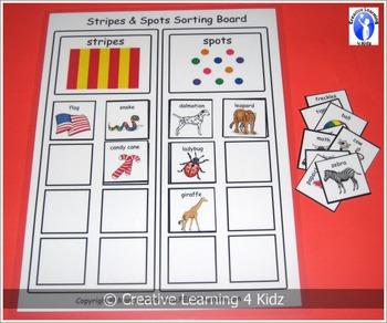 Stripes & Spots Sorting Board
