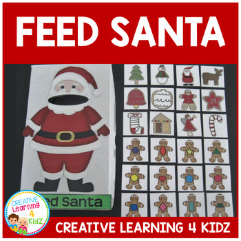 Feed Santa Cookies Christmas Activity