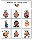 Autism Feelings Chart