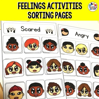 Autism Feelings / Emotions Sorting Activity