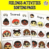 Feelings and Emotions Sorting Activity