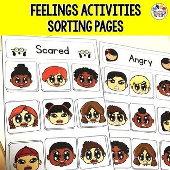 Autism Feelings / Emotions Sorting Activity