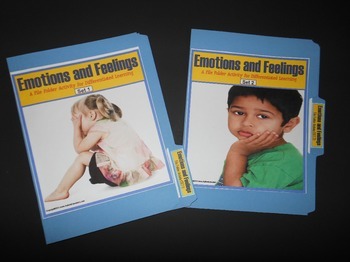 Autism File Folder Activities for Emotions and Feelings for Social Skills
