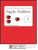 Autism File Folder Apple Addition up to 10 {Kindergarten}