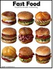 Autism File Folder Games FAST FOOD Visual Discrimination and Matching Skills