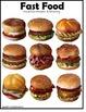 Autism File Folder Games FAST FOOD Visual Discrimination a