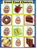 Autism File Folder Good Food Choices