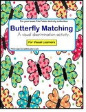 Autism File Folder Matching and Visual Discrimination Skills