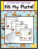Autism Life Skills Filling Food Order Activity for Special Education