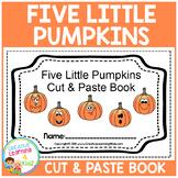 Five Little Pumpkins Cut & Paste Book