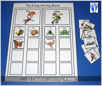 Fly & Hop Sorting Board