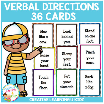 Verbal Direction Cards