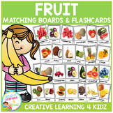 Fruit Matching Board & Flashcards