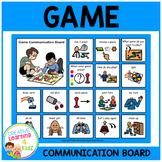 Game Communication Board Visual PECS
