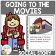 Social Story Going to the Movies Book Autism