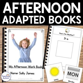 Autism Resources: Good Afternoon Work Book