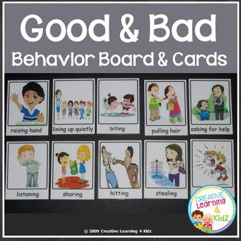 Behavior Matching Board + Flashcards